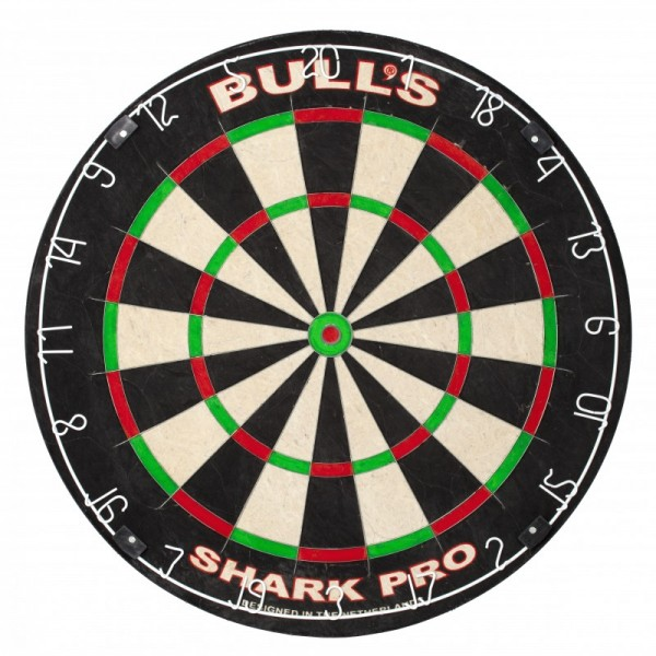 Bull's Shark Pro dartbord incl. rotate-fix bracket-