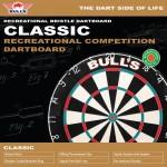 Bull's classic dartbord incl. bevestiging