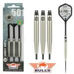 BULL'S @501 90% Tungsten dartpijlen Zwart 22 - 24 gram