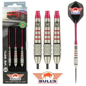 BULL'S V8 90% Tungsten dartpijlen 22 - 24 gram