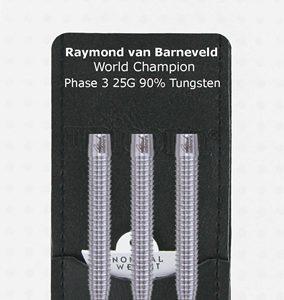 W.C. Purist 95% PHASE 3 Barneveld dartpijlen 25 gram