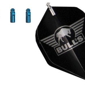 BULL'S Flightprotectors Aluminium - Blauw