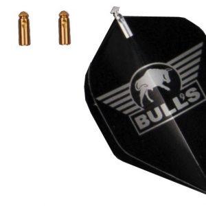 BULL'S Flightprotectors Aluminium - Goud