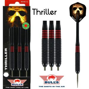 BULL'S Thriller Black Brass dartpijlen 22 - 24 gram