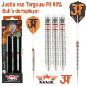 BULL'S Justin van Tergouw 90% dartpijlen