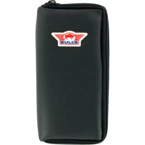 BULL'S Dartswallet Leer Medium - Zwart