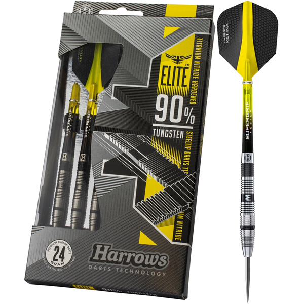 Harrows Elite 90% dartpijlen